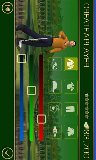 Tiger Woods 12 для Windows Phone