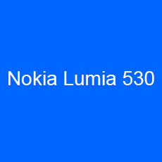 Nokia Rock = Nokia Lumia 530