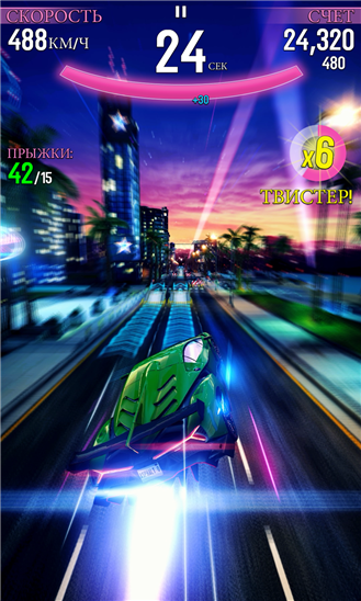 Asphalt Overdrive для Windows Phone