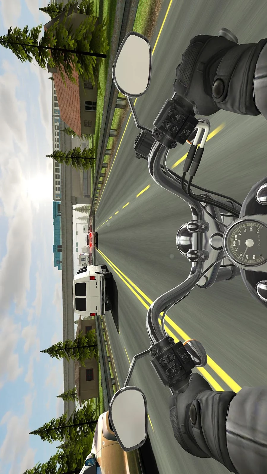 Traffic Rider для Windows Phone